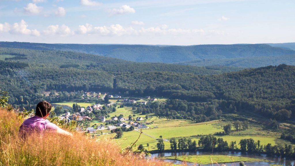 Panorama sur l'Ardenne