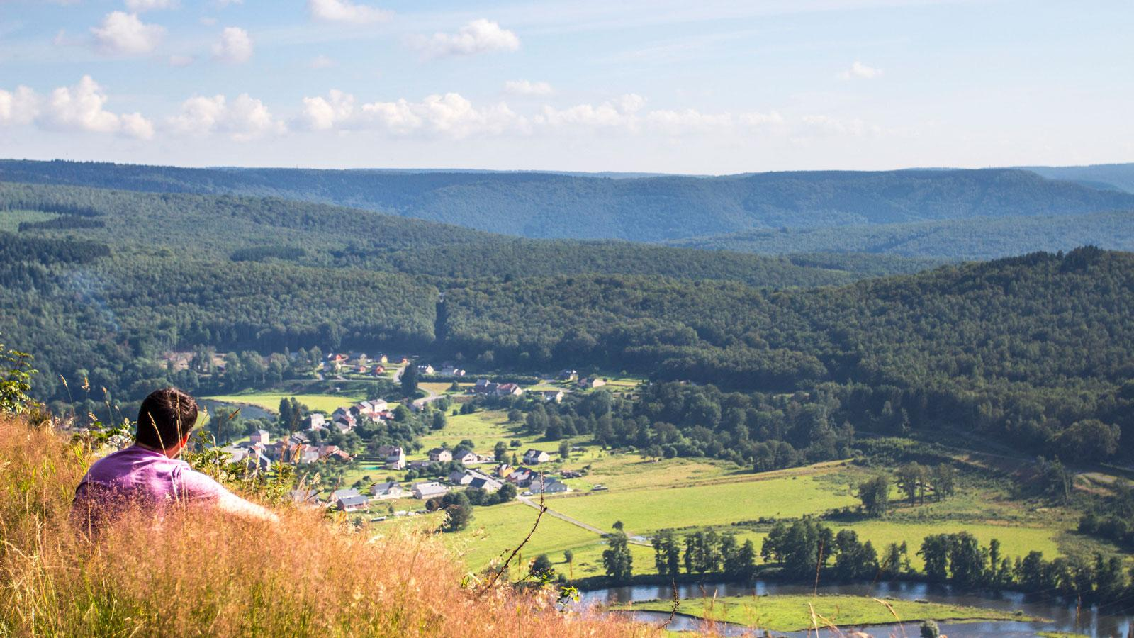 Panorama sur l'Ardenne