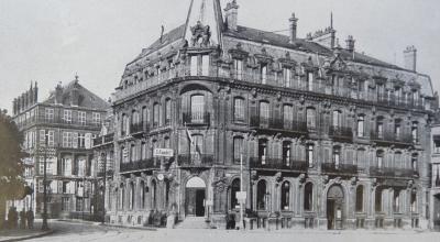 Kommandantur Sedan, Am Fuße der Ardennen, Leipzig Klischees und Druck von Dr Trenkler, [1914-1918], coll. Musée municipal de Sedan