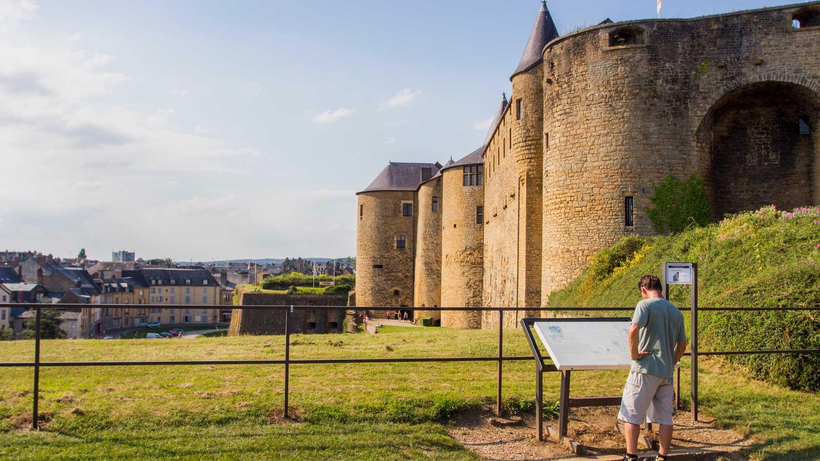 La forteresse château de Sedan
