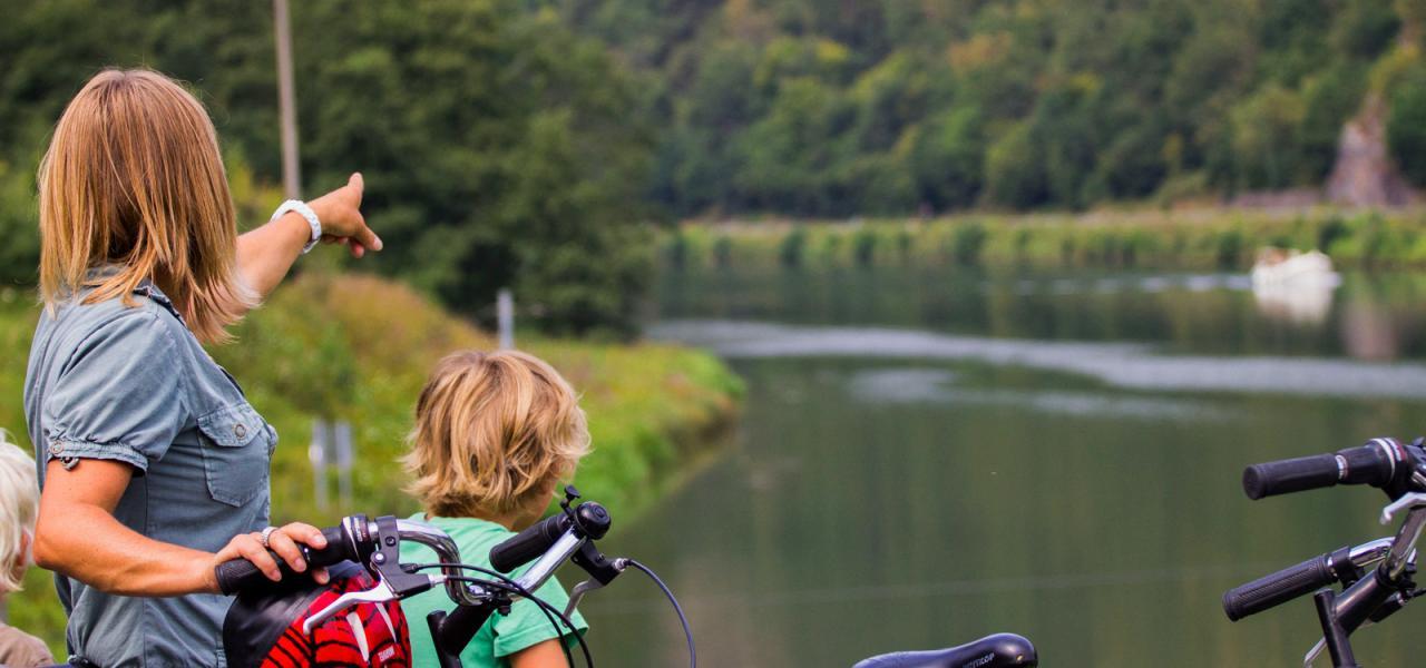 La Meuse à vélo en famille
