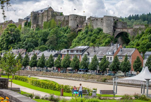 le château de bouillon en Ardenne