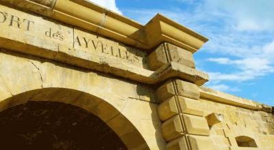 Le Fort des Ayvelles entre Charleville et Sedan
