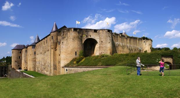 Panoramique château de Sedan