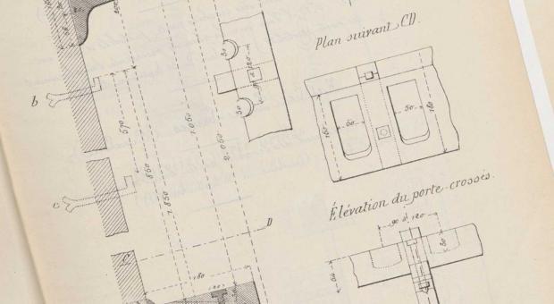 Plan du fort des Ayvelles