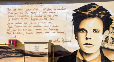 Portrait du poète Arthur Rimbaud