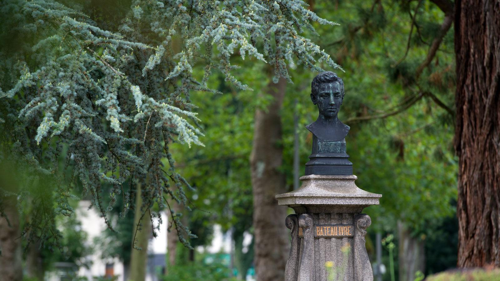 Arthur Rimbaud Square de la gare Charleville