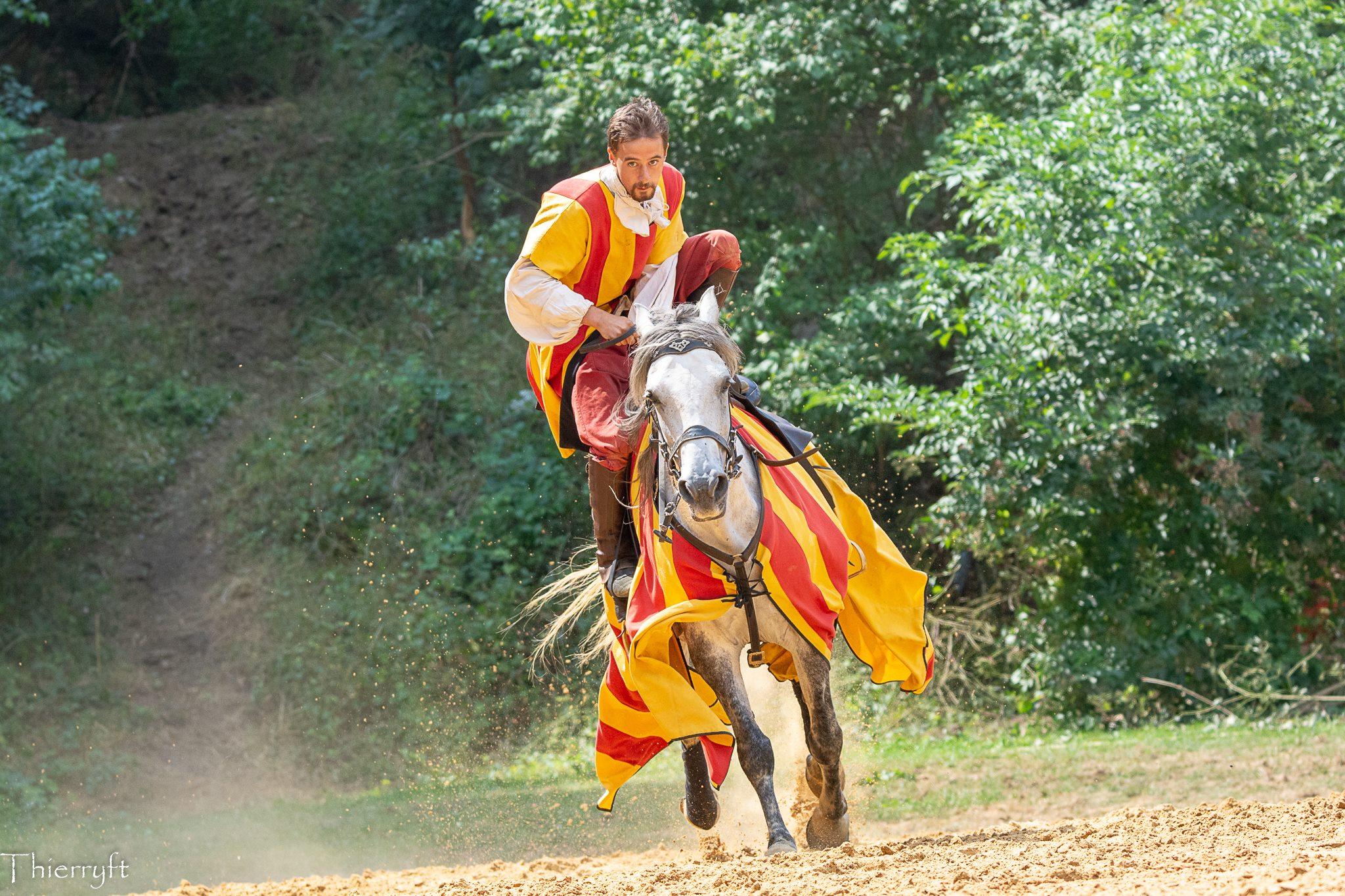 Le Tournoi de chevalerie de Sedan - Thierry Florin