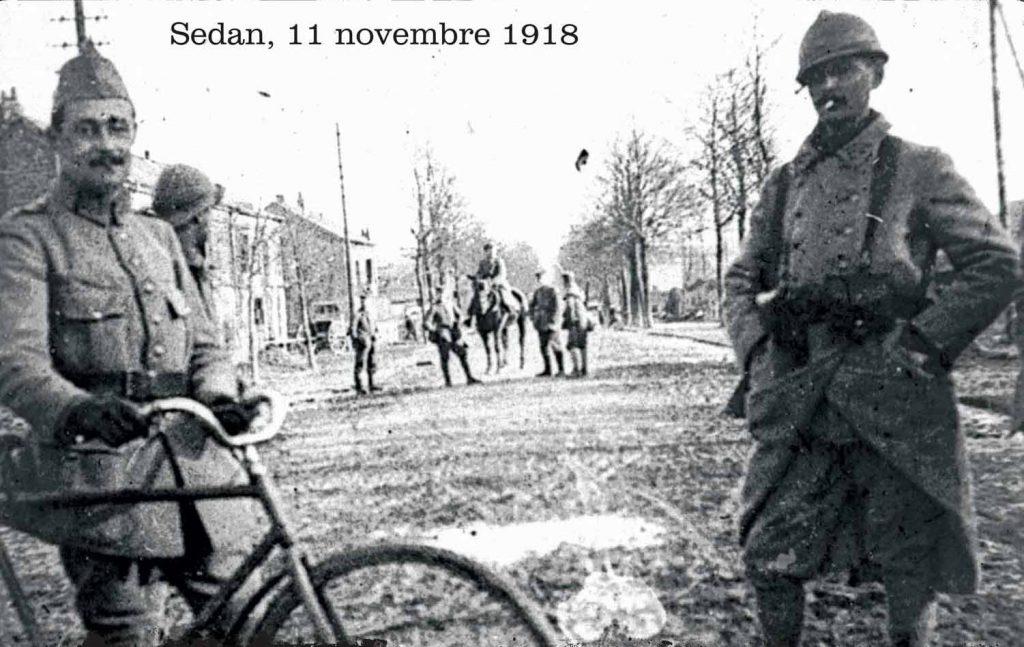 Le recul des troupes allemandes, la libération du Sedanais