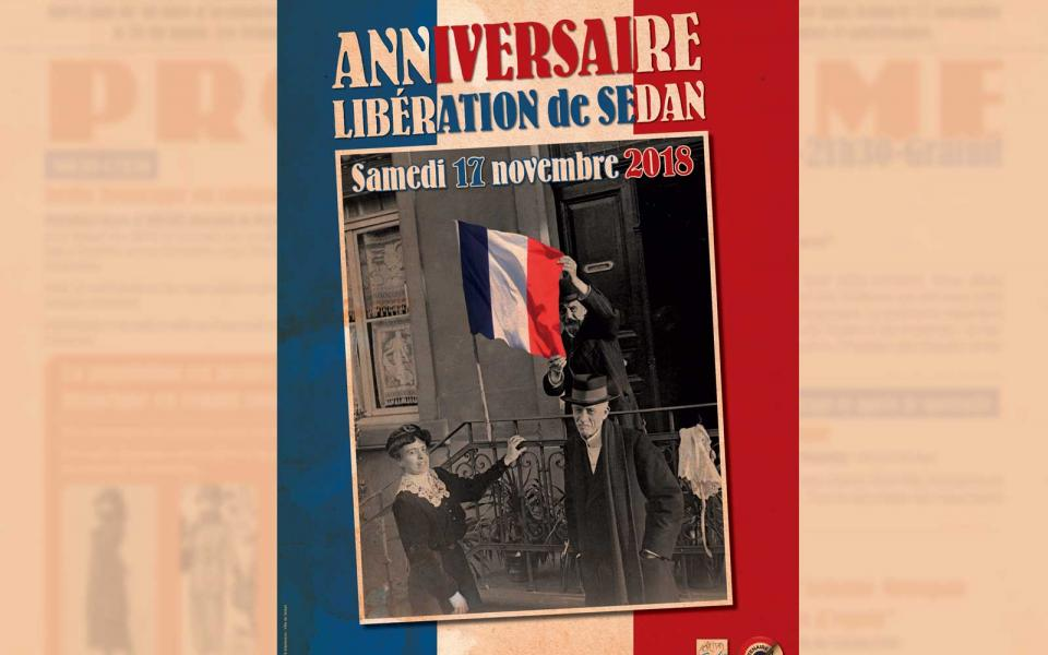 Programme commémoration armistice Sedan 17 novembre 2018