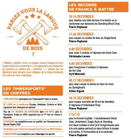 Foire de Sedan : le championnat de France Stihl Timbersports