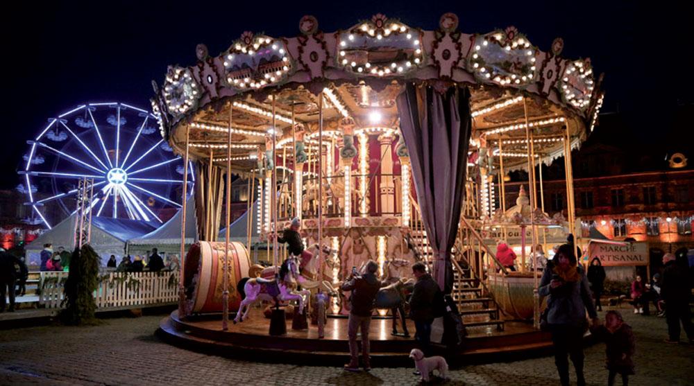 La marché de Noël de Charleville - attraction ©Ville de Charleville