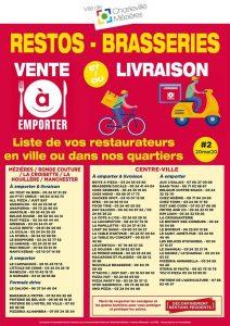 Restaurants et brasserie ouvertes après déconfinement à Charleville-Mézières