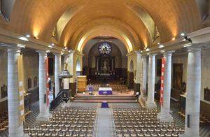 Intérieur de l'église Saint-Charles