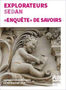Livret enfant explorateurs : Enquête de savoirs (journées européennes du patrimoine 2020 à Sedan)