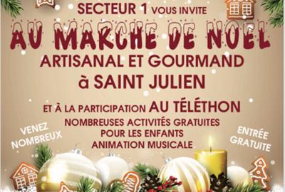 Marché de Noël gourmand et artisanal