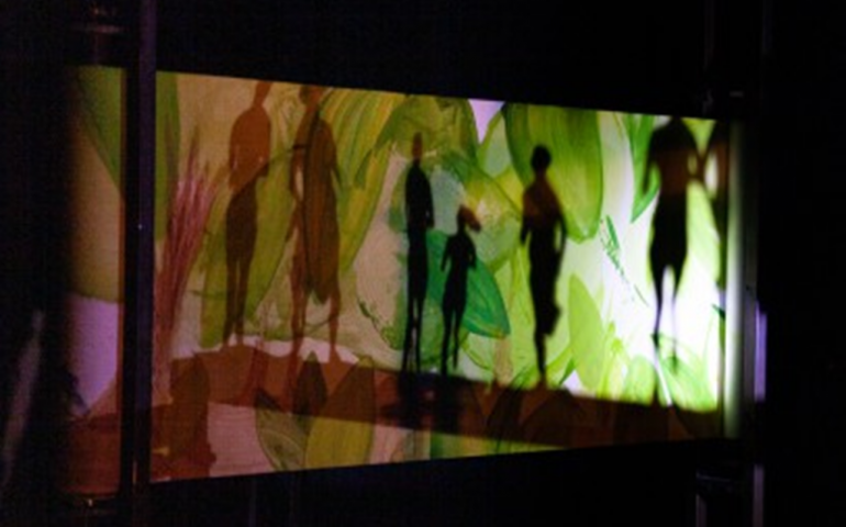 Théâtre de papier et d'ombre, musique : Où cours-tu comme ça ?