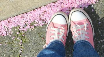 Marche rose à Gespunsart
