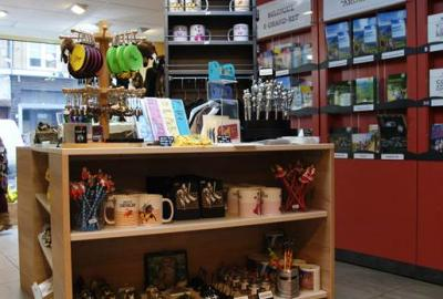 Boutique de l'Office de Tourisme de Sedan