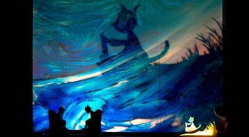 Danse et théâtre d'ombres : Moun