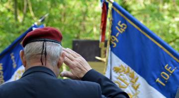 Cérémonie commémorative du 8 mai 1945