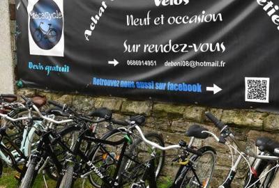 MécaCycle Sedan : Location de Vélos